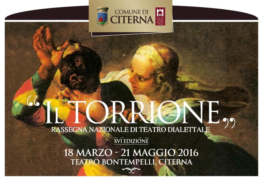 "Rassegna Teatrale ""Il Torrione"" 2016"