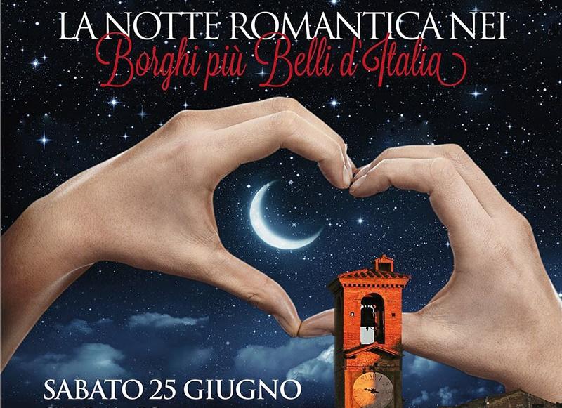 CITERNA, NOTTE ROMANTICA  NEI BORGHI PIU'BELLI D'ITALIA