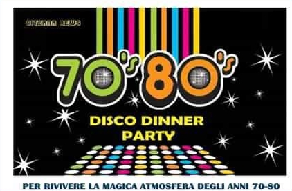 70′ 80′ Disco Dinner Party
